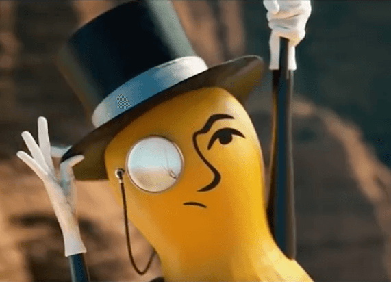 Mr. Peanut dies