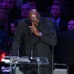 籃球之神Michael Jordan 流淚~~英文弔文致高比