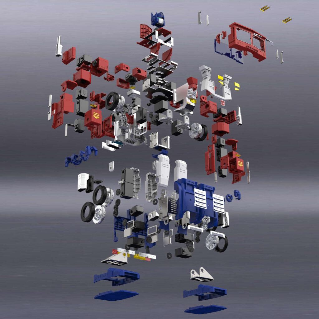 lifetimestuff Self-Transforming Optimus Prime Robot