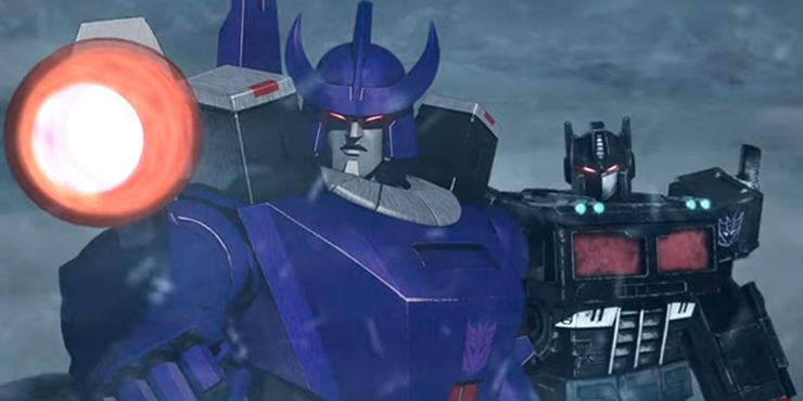 Transformers War for Cybertron Galvatron and Nemesis